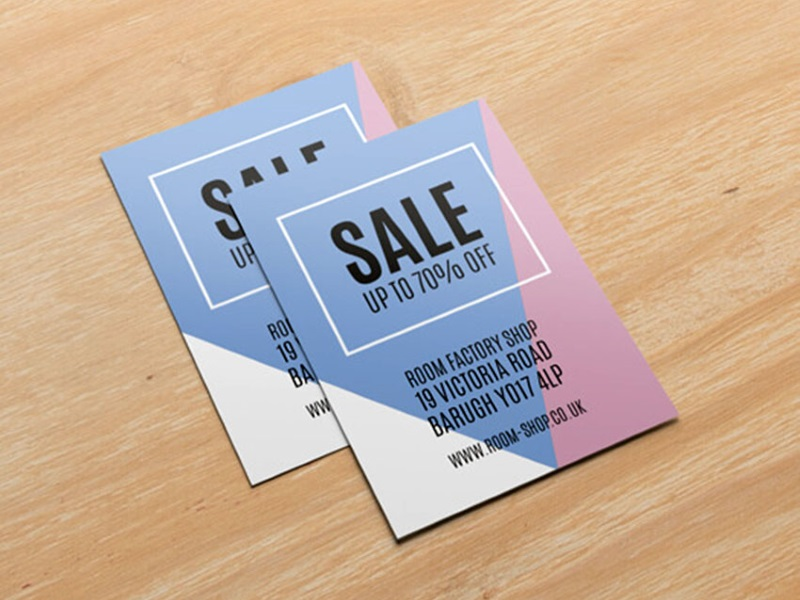 Single Side Fancy Leaflet (A3 Size)