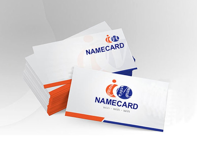 1 Side Name Card, Standard Size (250gsm - 310gsm)