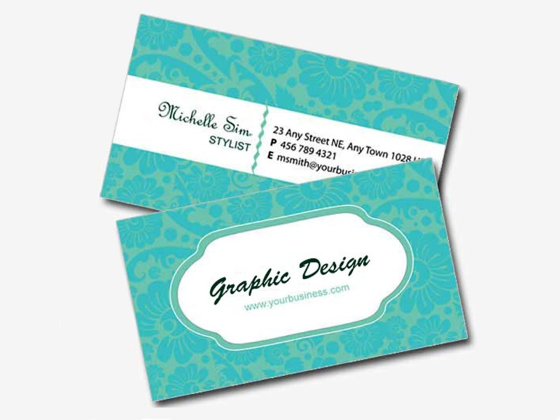 2 Side Name Card, Standard Size (330gsm)