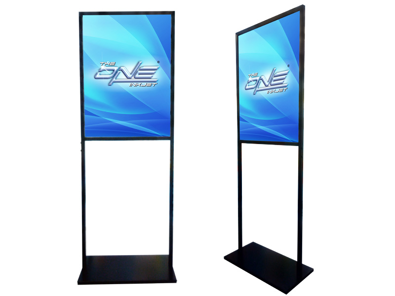 Double Sided Poster Stand 167