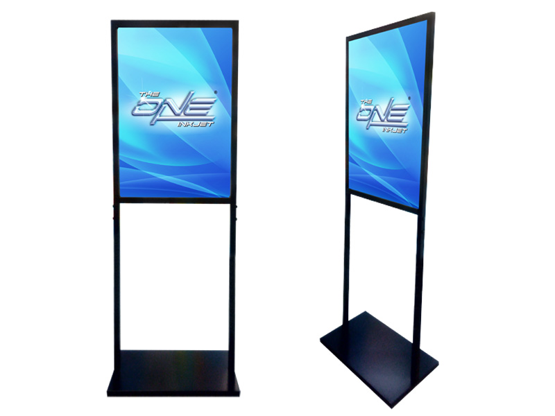 Double Sided Poster Stand 140