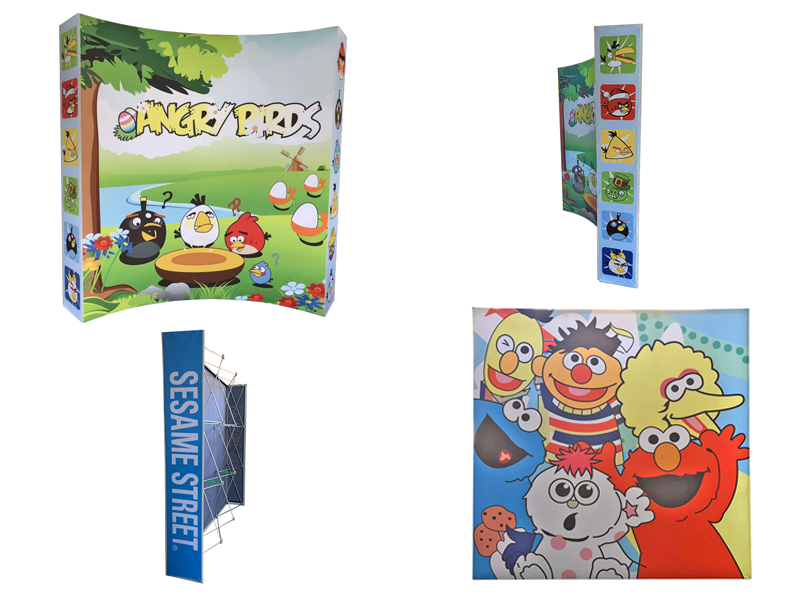 Fabric Pop Up System 3x3